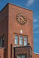 Eingangsbauwerk der ehemaligen Margarinefabrik Voss, Hamburg-Barmbek mit fehlendem Kuhkopf.jpg
