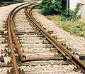Eisenbahnweiche Bogenweiche.jpeg