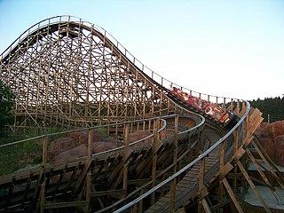 El Toro (Freizeitpark Plohn) roller coaster at Freizeitpark Plohn