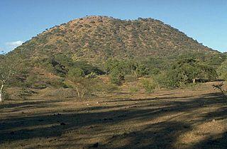 El Jorullo mountain in Mexico