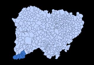 El Rebollar (Salamanca) Comarca in Castile and León, Spain
