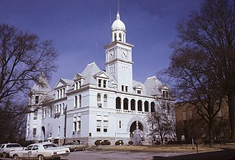 Elbert County, Georgia - Image: Elbert County Georgia Courthouse