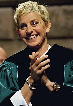 Ellen DeGeneres in 2009.