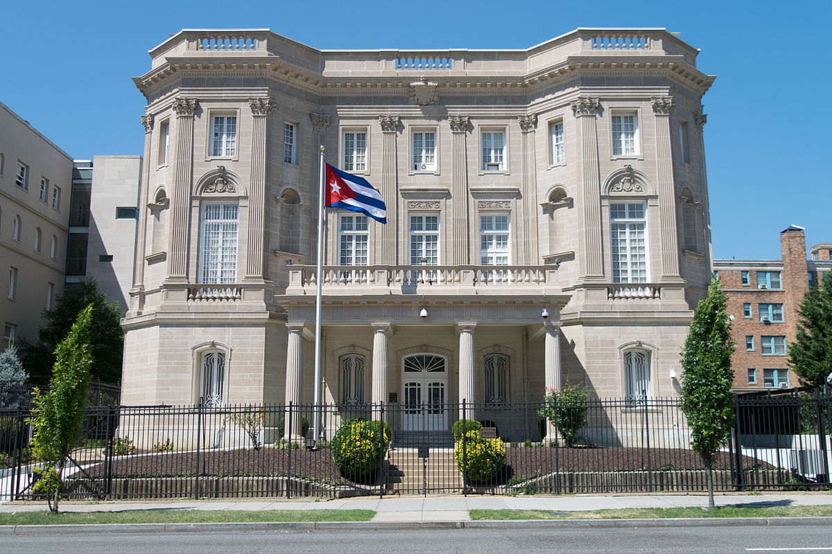 Embassy of cuba in washington d c wikipedia for Who is a consular