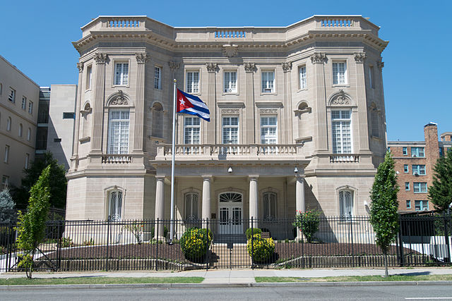 Embassy of the Republic of Cuba in Washington, D.C, From InText