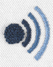 Embroidered wikiquote logo.jpg