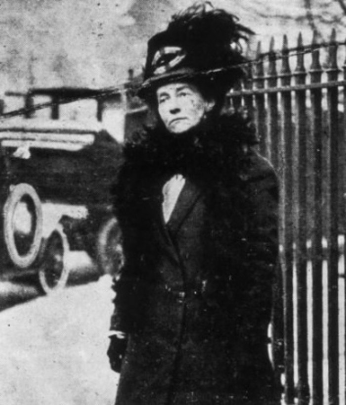 Emily Davison in later life