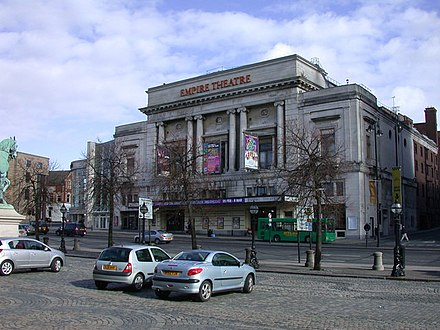 The Empire Theatre has the largest two tier auditorium in the UK Empire Theatre, Liverpool - geograph.org.uk - 719870.jpg