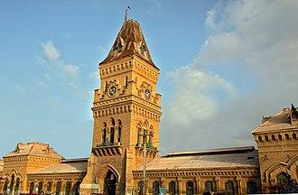 Empress Market - Karachi's oldest market, Empress Market is located in Saddar Town of Karachi, Sindh, Pakistan.