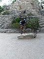 En la Zona Arqueologica de Xcaret - panoramio.jpg