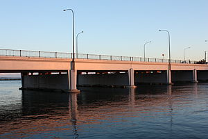 Endeavour Bridge - View from the north