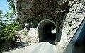 Engstelle auf dem Fahrweg zum Nenzinger Himmel (1367 m ü.M.), Bezirk Bludenz, Vorarlberg.jpg