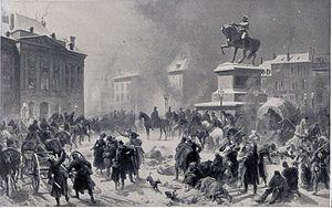 Second Battle of Orléans (1870) - Image: Entrée des Allemands à Orléans