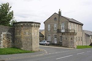 Richmond Barracks, North Yorkshire - Entrance towers to former barracks in Richmond