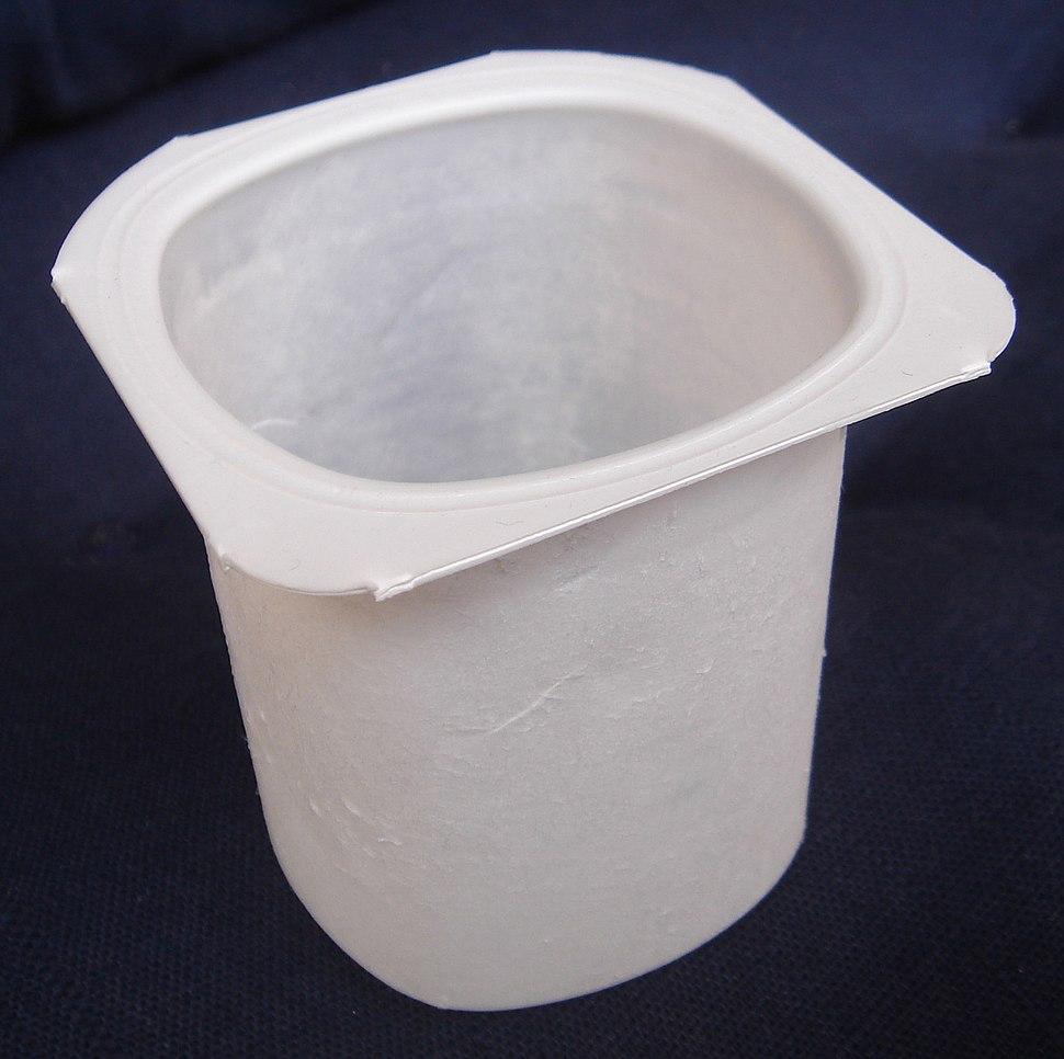 Envase de yogur
