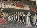 Epitaph Marienkirche Gudow Joachim von Bülow Familienübersicht mit bereits Verstorbenen rechts.jpg