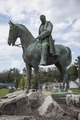 Equestrian statue of Henry Cassaway Davis in Elkins, West Virginia, where Davis & Elkins College carries his name LCCN2015631686.tif