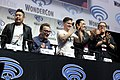 Eric Bauza, Tom Kenny, Yuri Lowenthal, Adam Croasdell, Fred Tatasciore, Tony Hale & Roger Craig Smith (27230188648).jpg