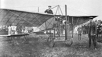Avenches - Ernest Failloubaz flight of 7 October 1910