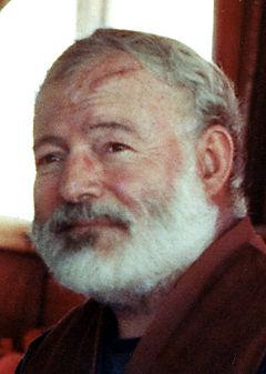 Ernest Hemingway 1950 crop