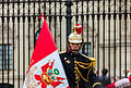 Escolta presidencial, Plaza de Armas, Lima, Perú, 2015-07-28, DD 39.JPG