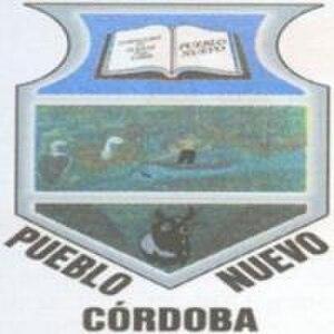 Pueblo Nuevo, Córdoba - Image: Escudo pueblo nuevo