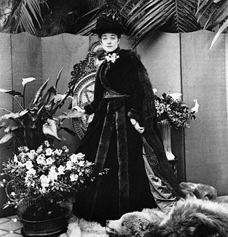 Cyril Flower, 1st Baron Battersea - Ethel Grenfell, Baroness Desborough photographed by Lord Battersea