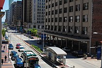 Euclid Avenue in Downtown Cleveland, looking east from E 6th Street.jpg