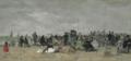 Eugène Boudin - La plage de Trouville (1874).png
