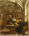 Eugene Siberdt - Martin Luther Translating the Bible, Wartburg Castle, 1521.jpg