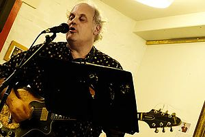 Eugene Chadbourne - Eugene Chadbourne in Aarhus, Denmark, 2015 Photo by Hreinn Gudlaugsson