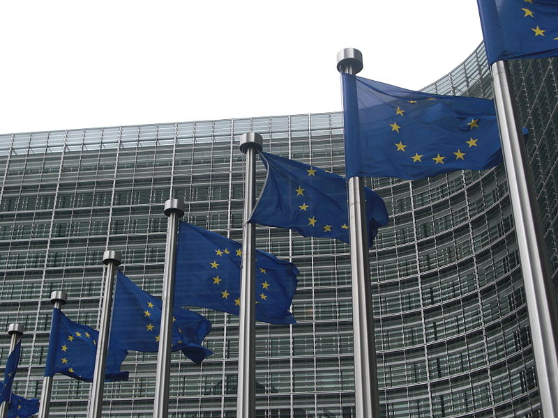 File:European Commission flags.jpg