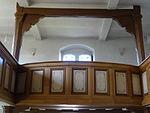 Evangelische Kirche Trais-Horloff Empore 06.JPG