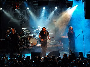 Evergrey - Evergrey performing live at Nosturi, Helsinki, Finland on 20 March 2008