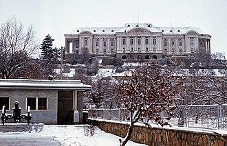 Operation Storm-333 - Image: Evstafiev 40th army HQ Amin palace Kabul