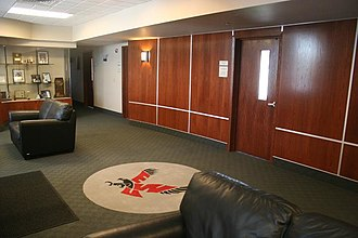 Roos Field - Suites in the new press box