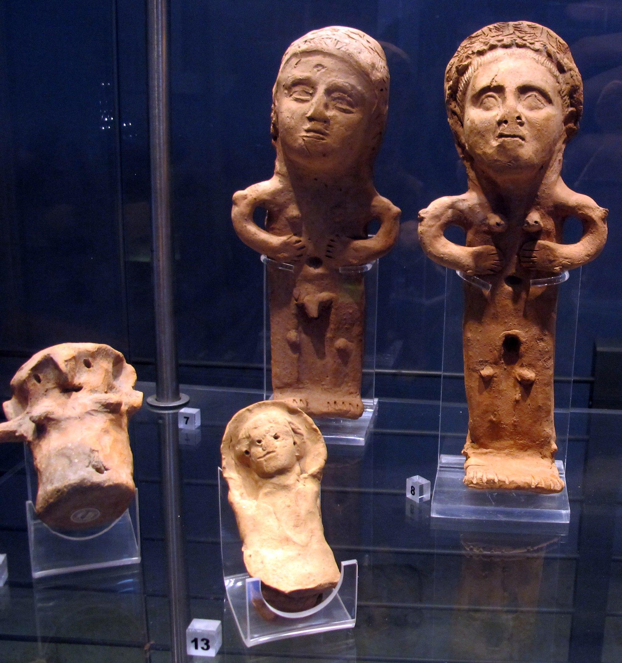 Sovana, Museo di San Mamiliano | Ex-voto da stipe del cavone, ex-voto, III-II sec. ac. 01