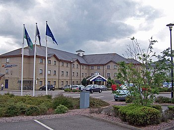 English: Express by Holiday Inn, Inverness The...