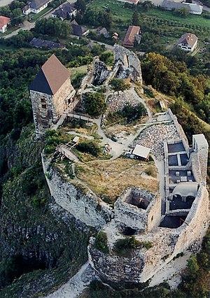 Abaúj-Torna County - Aerial Photo: Füzér – Castle