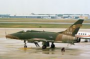 F-100D 118th TFS Connecticut ANG 1976