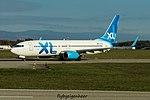 F-HJUL Boeing B737-8Q8-W B738 - XLF (30854545325).jpg