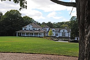 F. L. Wandell Estate and Ward Factory Site - Image: F. L. WANDELL ESTATE AND WARD FACTORY SITE, SADDLE RIVER, BERGEN COUNTY, NJ