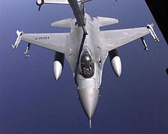 F16A PoAF refueling from a USAF tanker.jpg