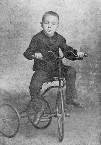 Fernando Pessoa - Last year in Lisbon before moving to Durban, 1894, aged 6.