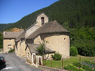 Balsièges - The church in Balsièges