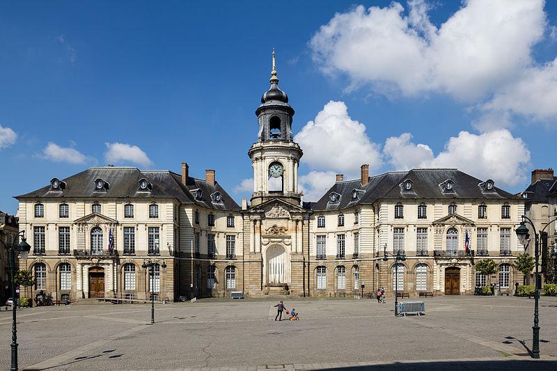 File:Façade de l'hôtel de ville, Rennes, France.jpg
