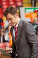 Fabio Aurelio signing autographs Liverpool vs Bolton 2011.jpg