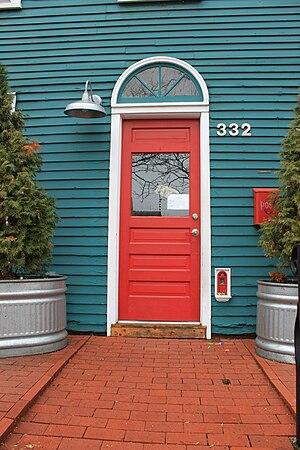 Fairy Doors of Ann Arbor - Red Shoes fairy door