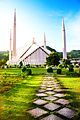 Faisal Mosque on a bright sunny day.jpg
