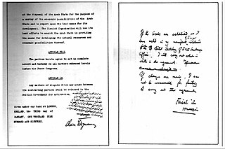 Faisal–Weizmann Agreement 1919 agreement